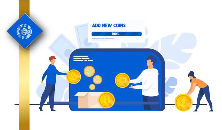 Paper Wallet of Counos Added 6 New Coins