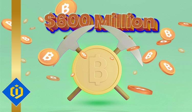 Miners Have Gained $600 Million in Bitcoin