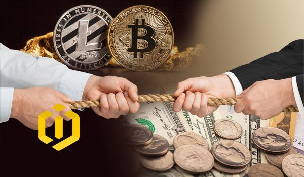 Are cryptocurrencies able to compete with bank currencies?
