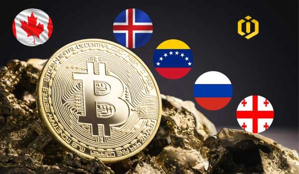 The Best Countries to Mine Bitcoin