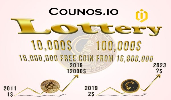 $ 10,000 & $ 100,000 Lottery!